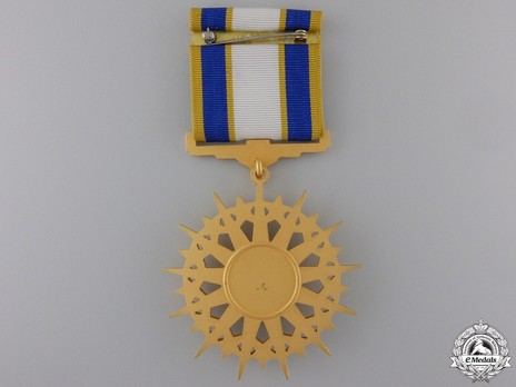 Air Force Distinguished Service Medal Reverse with Ribbon