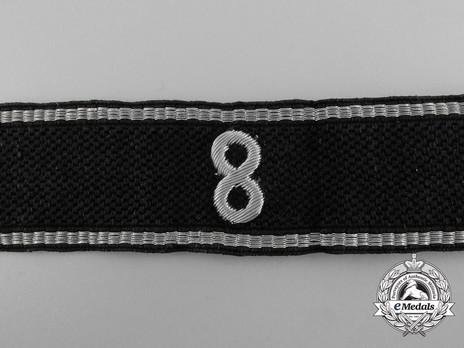 Allgemeine SS 8th Standarte Cuff Title Obverse