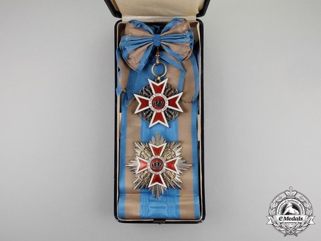 Order of the Romanian Crown, Type I, Civil Division Grand Cross Case of Issue