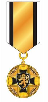 Prison Officer Service Medal, III Class Obverse