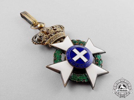 Order of the Redeemer, Type II, Grand Officer's Cross Reverse