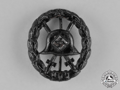 Wound Badge, in Black (cut out) Obverse