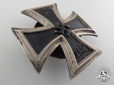 Iron Cross I Class, by Gebrüder Godet (L/50, screwback) Obverse