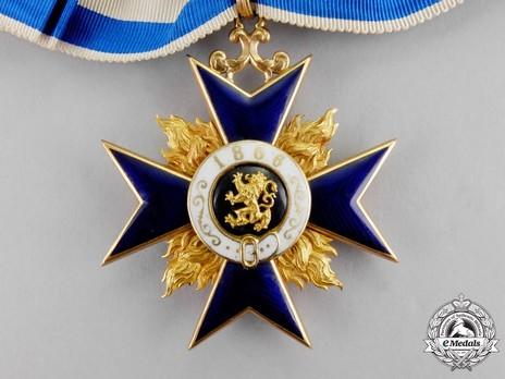 Order of Military Merit, II Class Cross Reverse