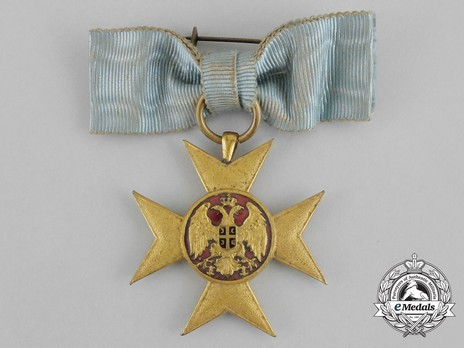 Cross of Charity, in Gold (large medaillion) Obverse