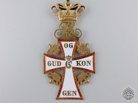 II Class Commander in Gold (Frederik IX) Obverse