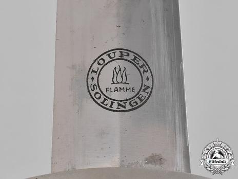 SA Standard Service Dagger by Louper (maker marked) Maker Mark