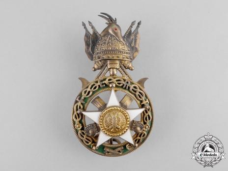 Order of Skanderbeg, Type II, Officer's Cross Obverse