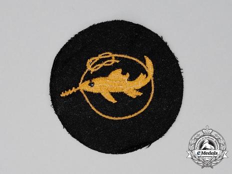 Naval Combat Badge of Small Battle Units, I Class
