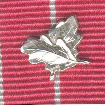 """Silver Medal (for military, with King George VI """"GRI"""" cypher, with gallantry emblem) Clasp"""
