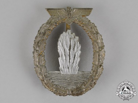 Minesweeper War Badge, by R. Karneth (in zinc) Obverse