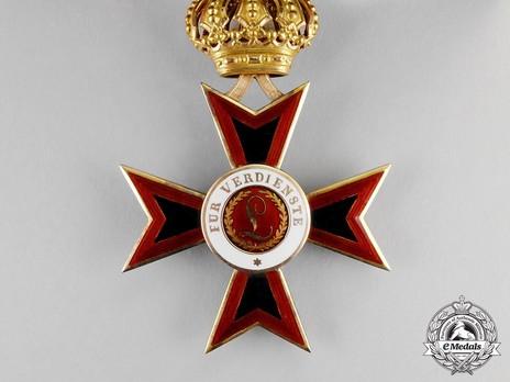 Order of Ludwig, Commander Obverse