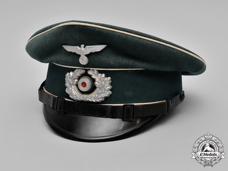German Army Infantry NCO/EM's Visor Cap Profile