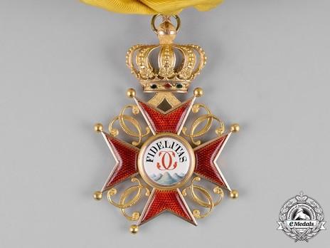 Grand Cross (1803-1918) (regular swivel hinge variation) Obverse