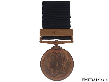 Bronze Medal (for Metropolitan Police) Obverse