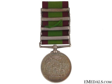 Silver Medal (with 4 clasps) Reverse