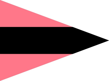 German Army Staff Flag for Battalions (Panzer version) Obverse