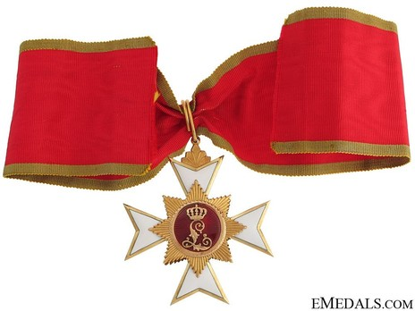 II Class Cross (in gold) Reverse