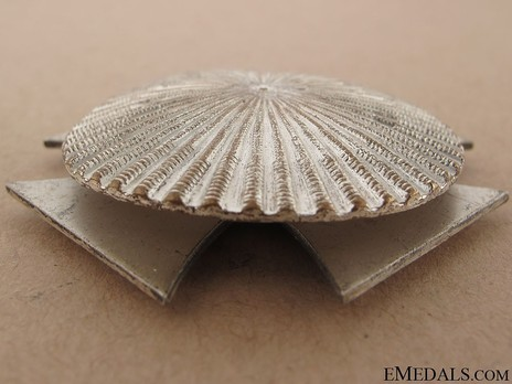 Iron Cross I Class, by W. Deumer (clamshell screwback) Reverse