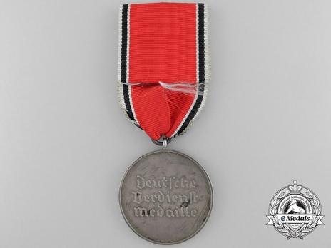 Silver Merit Medal (Gothic version) Reverse