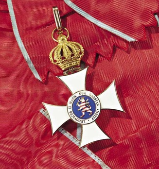 Order of Philip the Magnanimous, Type II, Grand Cross (with crown) (in gold)