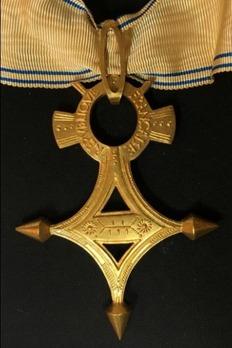 Order of Saharan Merit, Commander Reverse