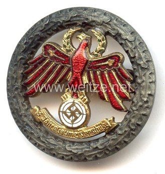 Tyrolean Marksmanship 3 Years of Gau Champion Shooter Badge, Small Obverse