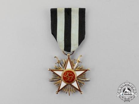 Military Order of Zolfagher (Ḏu'l-faqār), III Class Reverse