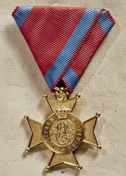 Order of Ernst August, Gold Merit Cross