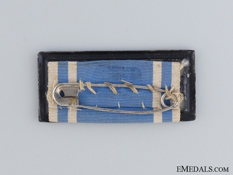 Reserve Infantry Long Service Decorations, II Class Bar (1986-1913) Reverse