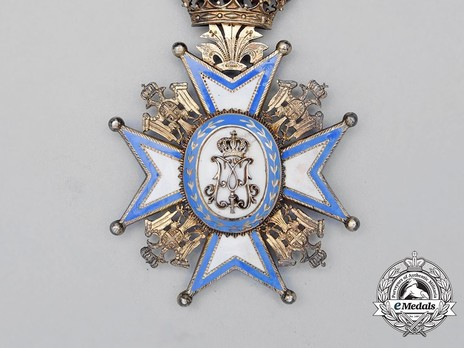 Order of Saint Sava, Type I, II Class Breast Star Reverse