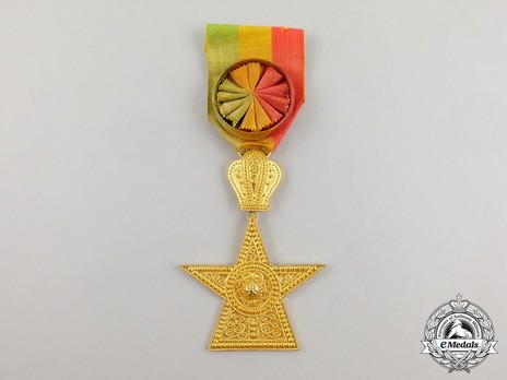 Order of the Star of Ethiopia, Officer Obverse