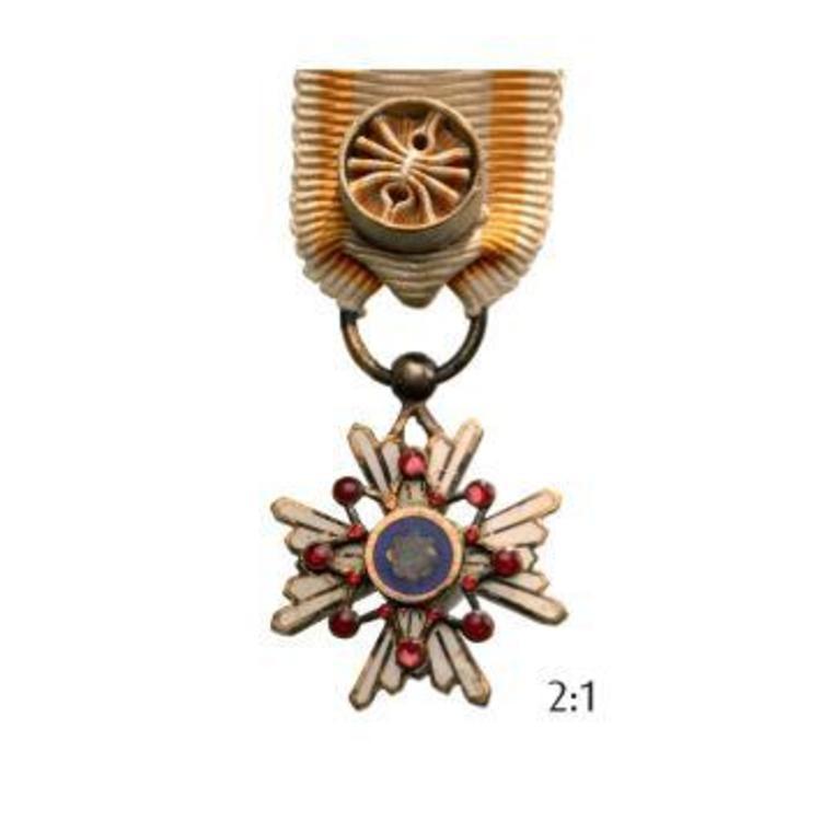 Miniature medal v class obv rev t1