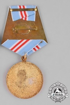 Military 20 Years Long Service and Good Conduct Medal Reverse
