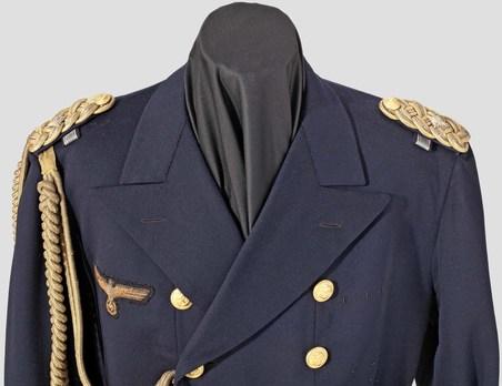 Kriegsmarine Frock Coat Obverse Detail
