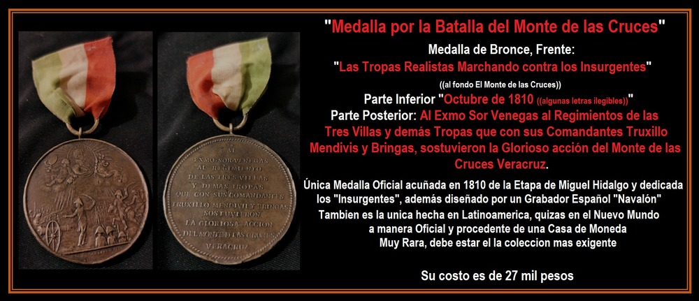 1+medalla+batalla+monte+de+las+cruces+1810