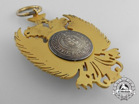 Order of Skanderbeg, Type II, Grand Cross Reverse
