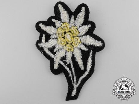 Waffen-SS NCO/EM's Cap Edelweiss Reverse