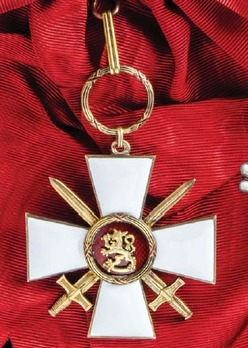 Order of the Lion of Finland, Military Division, Commander Grand Cross