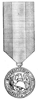 Medal for Meritorious Members of Fire Services Obverse