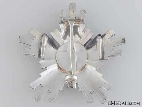 Order of Civil Merit (Wisam al-Satahaqaq al-Sun), Excellent Class Breast Star Reverse