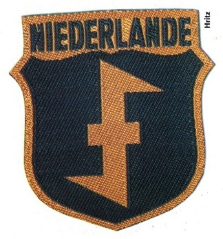 German Army Netherlands Sleeve Insignia Obverse