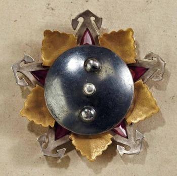Order of Nakhimov I Class Medal Reverse