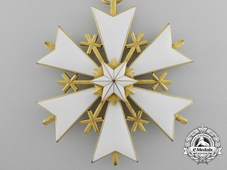 Order of the White Star, III Class Cross Obverse