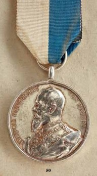 """Luitpold Medal, in Silver (stamped """"A.SCHARFF"""")"""