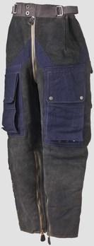Luftwaffe Summer Flight Trousers in Blue-Grey Obverse