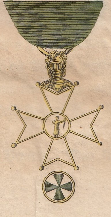 Historische sammlung aller ritterorden order+of+st.+joachim%2c+honour+member+cross