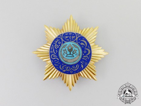 Order of Noble Bukhara, I Class, III Grade (version 1) Obverse