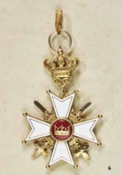 Order of Berthold I, Grand Cross with Swords (in silver gilt)