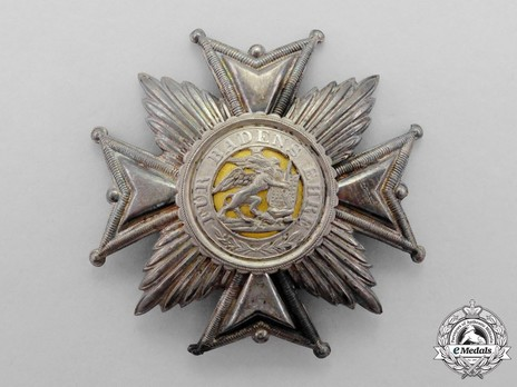 Grand Cross Breast Star (hollow) Obverse